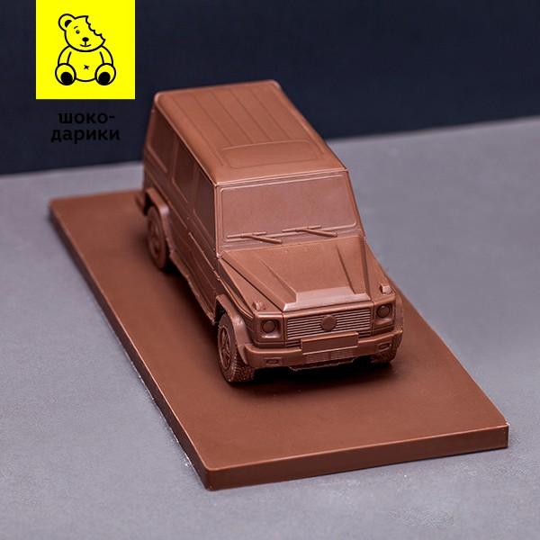 Машина из шоколада в Москве